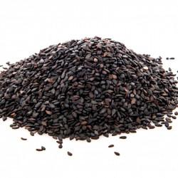 semillas de sesamo negro sin tostar