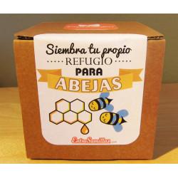cajas de semillas para abejas kit de siembra para regalo