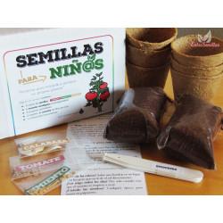 Kit de Semillas para niños