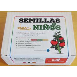 cajas de semillas para niños