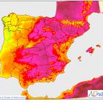 Mapa de temperaturas AEMET