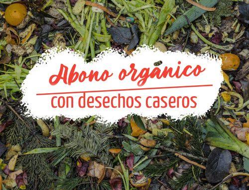 Cómo preparar abono orgánico con desechos caseros