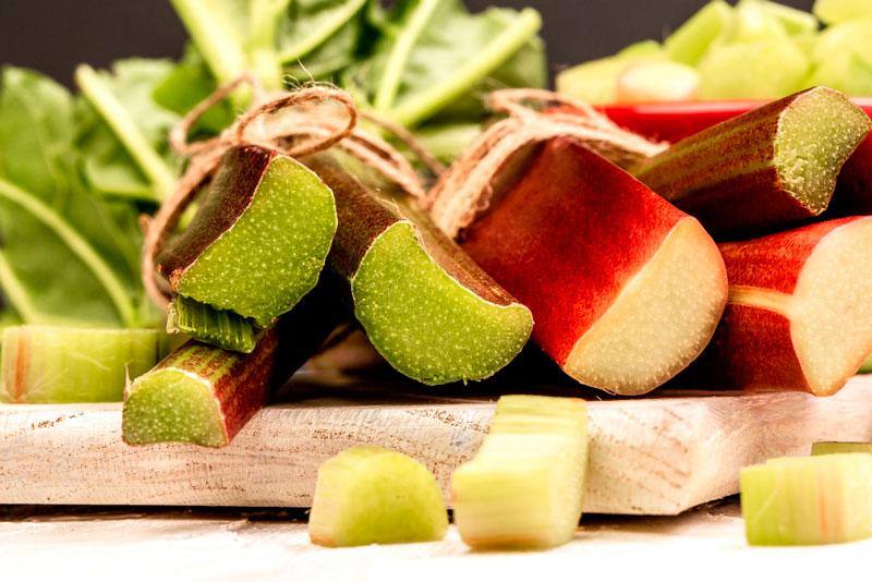 ruibarbo es una verdura perenne